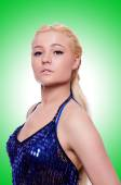 Young Female dancer — Stock Photo