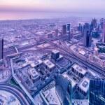 Panorama of night Dubai — Stock Photo #69167339
