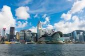 Hong Kong skyline in China — Stok fotoğraf
