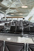 Empty  Chairs in the airport — ストック写真