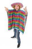 Funny mexican in hat — Stock Photo