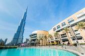 Burj Khalifa in UAE, Dubai — Stock Photo