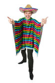 Funny young mexican — Stock Photo