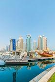 Distrito de la marina de Dubai — Foto de Stock