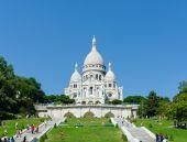 Basilique du Sacre Coeur on September — Stock Photo