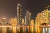 Dzielnicy Dubai marina — Zdjęcie stockowe