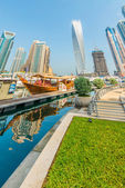 Dubai Marina district — Stock Photo
