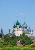 Rostov kreml, zlatý prsten ruska — Stock fotografie