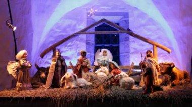 Birth of Jesus — Stock Video