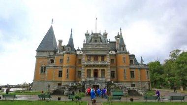 Massandra Palace in Crimea — Stock Video