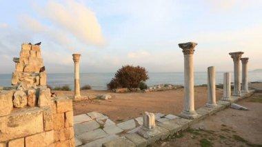 Antigua ciudad griega — Vídeo de Stock