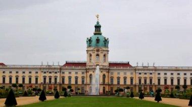 Charlottenburg palace in Berlin — Stock Video