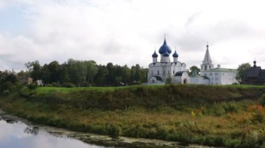 İsa'nın Doğuşu Katedrali Suzdal Kremlin'in — Stok video