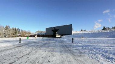 Brest Fortress entrance — Stock Video