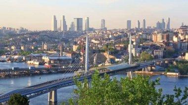 Istanbul Bosphorus bridge — Stock Video