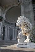 Rzeźba Lwa w pałacu Woroncowa — Zdjęcie stockowe