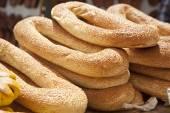 Bagels for sale in Jerusalem — Stock Photo