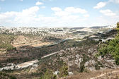 Panoramic view of Jerusalem — Stock Photo