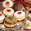 Hanukkah doughnuts — Stock Photo #58421953