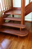 Escaleras de madera — Foto de Stock