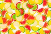 Fruit jelly — Stock Photo