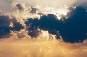 Sonnenuntergang — Stockfoto