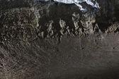 Fundo de pedra parede preta — Fotografia Stock