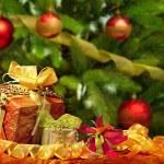 Christmas Ball Hintergrund — Stockfoto #60326561