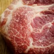 Piece of uncooked marbled steak or meat — Stock Photo #60327837