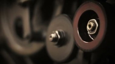 Industrial machine processes — Stock Video