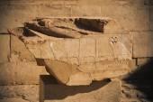 Старые иероглифы Египта в Луксоре — Стоковое фото