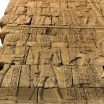 Old egypt hieroglyphs in Luxor — Stock Photo #70028943