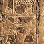 Old egypt hieroglyphs in Luxor — Stock Photo #70494273