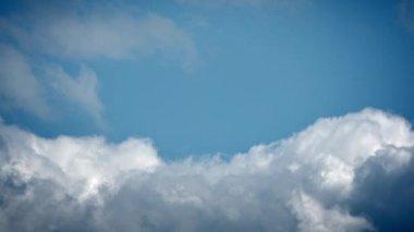 Blue sky time lapse — Stock Video