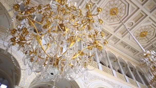 Ceiling and magnificent chandeliers — Stock Video © Paha_L #108558558:Ceiling and magnificent chandeliers — Stock Video #108558558,Lighting