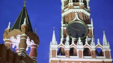 Spasskaya tower — Stock Video