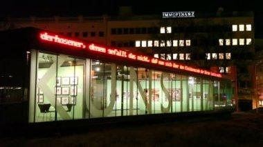 Exhibition hall Kunsthalle Vienna — Stock Video
