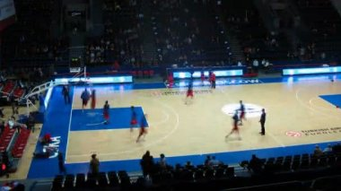 CSKA Moscow before match — Stock Video