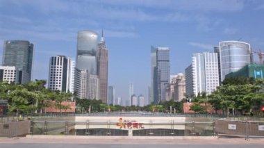 Ground panorama of Guangzhou — Vidéo