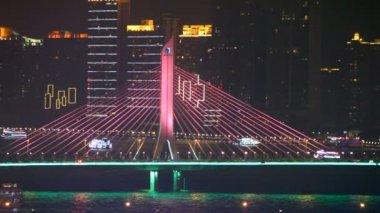 Haiyin bridge — Stock Video