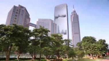 Grand Hyatt Hotel in Guangzhou — Stock Video