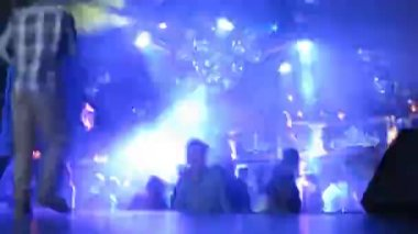 People dancing at DJ Solovey birthday party — Stock Video