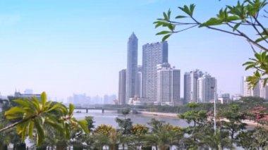 Guangzhou ground panoramic view — Vidéo
