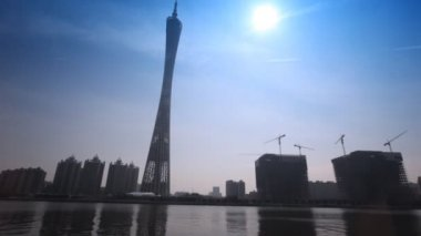 Canton tower — Stock Video