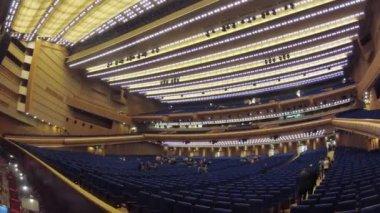 State Kremlin Concert hall — Stock Video