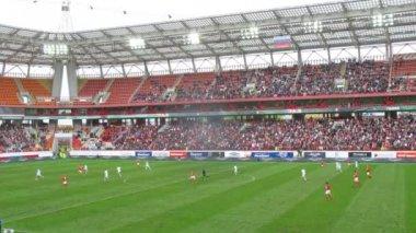 Russia Spartak and Ukraine Dynamo — Stock Video