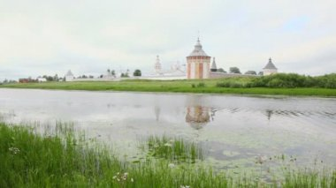 Saviour Prilutskyl Monastery — Stockvideo