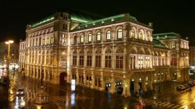 Vienna State Opera House — Stock Video