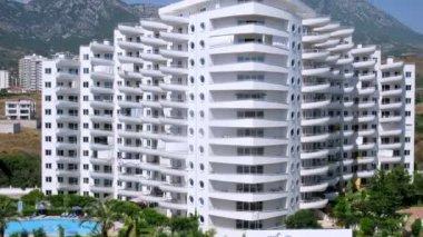 Housing estate of My Marine Residence — Stock Video