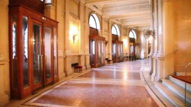 ウィーンのブルク劇場ホール — ストックビデオ
